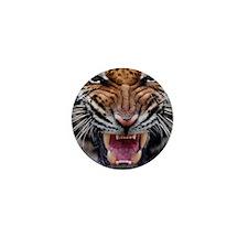 Tiger Mad Mini Button