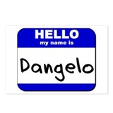 hello my name is dangelo  Postcards (Package of 8)