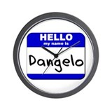 hello my name is dangelo  Wall Clock