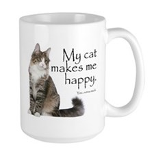 Not So Much Cat Mugs