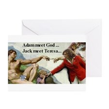 Jack's thumb~Teresa Greeting Cards (Pk of 10)