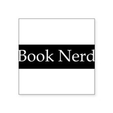 Book Nerd - (BS-W) Sticker