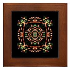 Celtic Fire Framed Tile