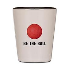 Be Ball Kickball Shot Glass