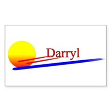 Darryl Rectangle Decal