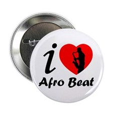 "I love Afro beat 2.25"" Button (100 pack)"