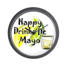 Drinko De Mayo Wall Clock