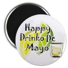 """Drinko De Mayo 2.25"""" Magnet (100 pack)"""