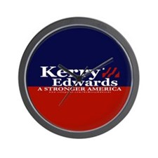 Kerry Edwards Wall Clock