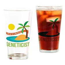 Retired Geneticist Drinking Glass