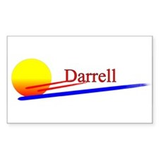 Darrell Rectangle Decal