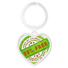 Free of Charge Heart Keychain