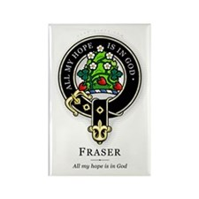 Clan Fraser Rectangle Magnet (10 pack)