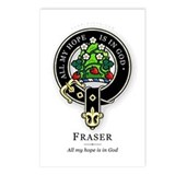 Clan Fraser Postcards (Package of 8)