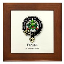 Clan Fraser Framed Tile