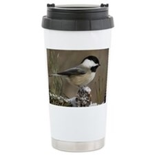 Black- Capped Chickadee Travel Mug