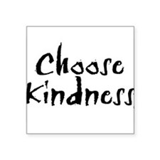 Oval Sticker- Choose Kindne Sticker