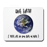 Save earth Mousepad