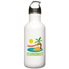 Retired Economist Water Bottle