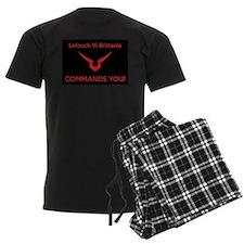 Lelouch COMMANDS (blck bckrnd) Pajamas