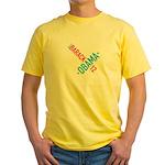 Twisted Obama 08 Yellow T-Shirt