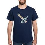 Twisted Obama 08 Navy T-Shirt