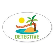 Retired Detective Decal