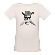 Skull Chef Knives T-Shirt