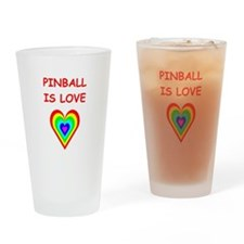 pinball Drinking Glass