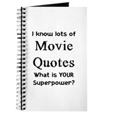 movie quotes Journal