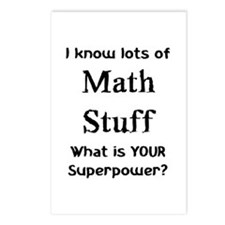 math stuff Postcards (Package of 8)