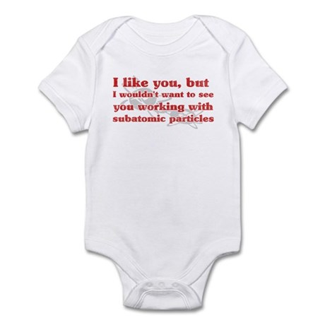 Subatomic Particles Infant Bodysuit