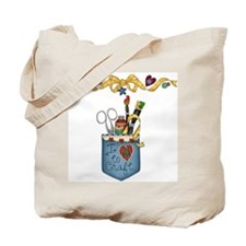 I Love to Craft Tote Bag