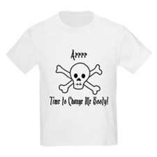 Pirate Diaper Booty T-Shirt