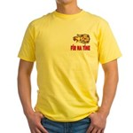 Fír Na Tíne Men of Fire Yellow T-Shirt