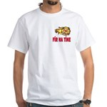 Fír Na Tíne Men of Fire White T-Shirt