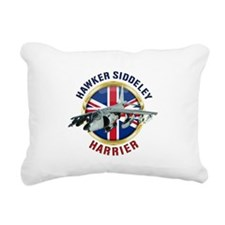 Hawker Siddeley Harrier Rectangular Canvas Pillow