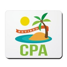 Retired CPA Mousepad