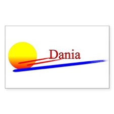Dania Rectangle Decal
