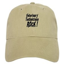 Veterinary Techs Rock ! Baseball Cap