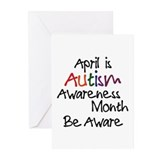 Autism Awareness Month Greeting Cards (Package of