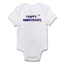 Happy Anniversary-melt Infant Bodysuit