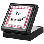 Non Preoccupare Keepsake Box