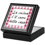 Cucina Cuore Casa Keepsake Box