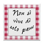 Vive Solo Pane Tile Coaster