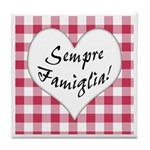 Sempre Famiglia Tile Coaster