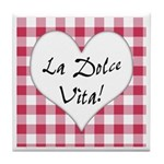 La Dolce Vita Tile Coaster