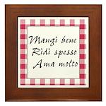 Mangi Ridi Ama Framed Tile