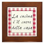 Cucina Cuore Casa Framed Tile