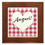 Auguri Framed Tile